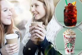 starbucks are offering buy one get one free on all festive drinks