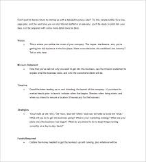 simple business plan template sample one page business plan