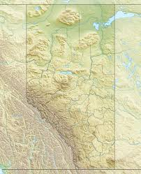 Lake Vermilion Map File Canada Alberta Relief Location Map Jpg Wikimedia Commons