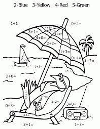 free printable coloring pages by addition coloring home