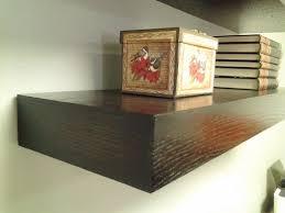 Floating Wooden Shelves by Wall Shelves Design Espresso Floating Wall Shelves Design Wall