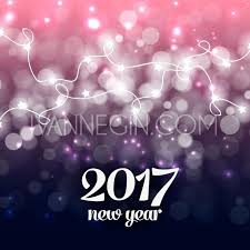 merry happy new year vintage background with