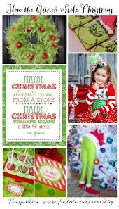 best 25 the grinch stole christmas ideas on pinterest how