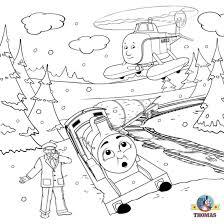 free christmas coloring pages kids printable thomas snow