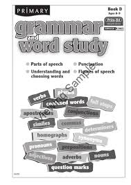 6243 primary grammar and word study book d by prim ed publishing