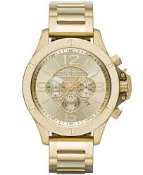 gold armani bracelet images A x armani exchange men 39 s chronograph gold ion plated stainless tif
