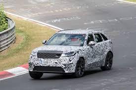 range rover velar u0027svr u0027 v8 spotted at nurburgring performancedrive