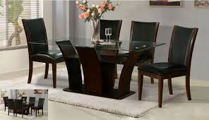 dining table furniture divine black and white dining room