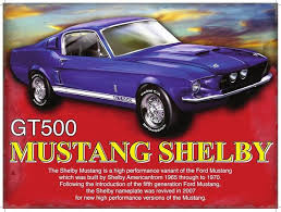 ford mustang metal wall mustang shelby motor road knights