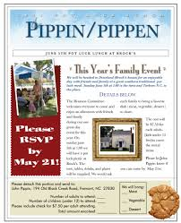 pippin family reunion website