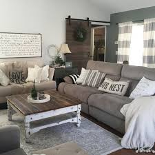 27 modern farmhouse living room decor and design ideas