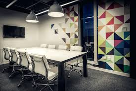 office design office wall designs painting facebook poland