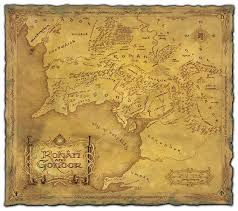 map from lord of the rings daniel reeve artist calligrapher cartographer