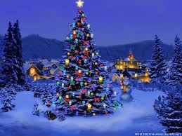 3d moving wallpaper desktop wallpapers christmas tree