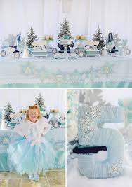 Sparkly Snowy & Fantastic } Frozen Birthday Party Hostess with