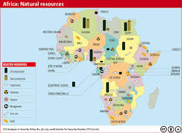 The Map Of Africa This Is An Image Of All The Abundant Resources Of Africa As You