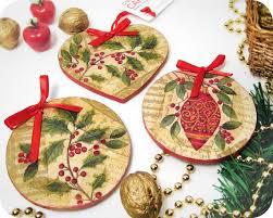 25 unique diy decoupage ornaments ideas on