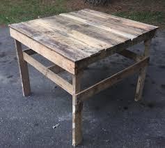 Diy Patio Coffee Table Pallet Patio Coffee Table Potting Table