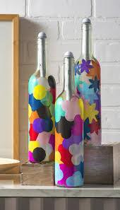 Wine Bottle Halloween Crafts by Wine Bottle Crafts Light My Bottles Mod Podge Rocks