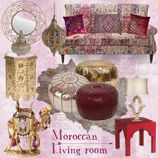 Moroccan Living Room Polyvore - Moroccan living room set