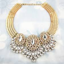 statement necklace wholesale images Cheap white and silver statement necklace find white and silver jpg
