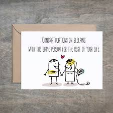 congratulations on wedding card congratulations on sleeping with same person wedding card weddi