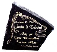 engraving wedding gifts accent laser anniversary gifts personalized wedding blessing
