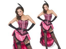 boutique halloween costumes boutique can can dancer ladies burlesque fancy dress costume 8 18