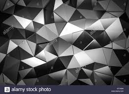 metal triangle mosaic background 3d render stock photo royalty