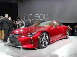 is lexus a luxury car must see luxury cars and sedans at the 2016 detroit auto