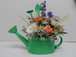 unique housewarming gifts watering can arrangement unique watering can decor watering can
