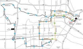 Buffalo Bayou Park Map How To Watch The Houston Marathon This Weekend Galleria Tx Patch