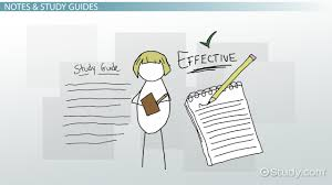 taking notes and making study guides for yourself video u0026 lesson