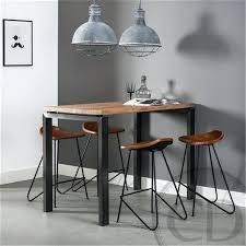 cuisine table haute table haute bois metal table haute industrielle bois metal tshuttle co