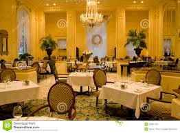 luxury restaurant interiors stock photo image 28581720