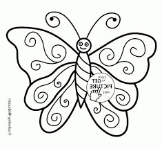 butterfly drawing kids butterfly coloring pages nice for kids