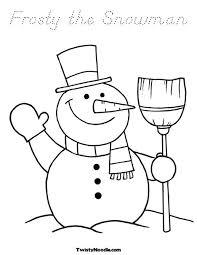 13 images building snowman coloring pages spongebob