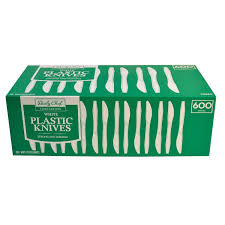 plastic knives daily chef white plastic knives 600 count health