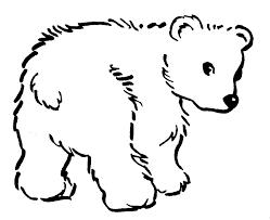 clip art sleeping bear coloring page mycoloring free printable