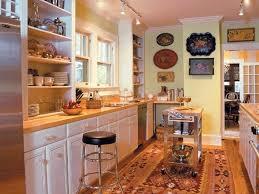 Kitchen Island U Shaped Ideas Vintage Pendantp Refrigerator White