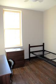 each room comes with a bed desk chair and dresser college