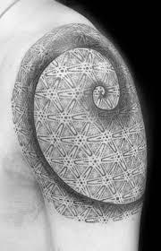 9 best fibonacci spiral tattoo leg images on pinterest fibonacci