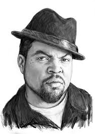 ice cube art drawing sketch portrait painting by kim wang
