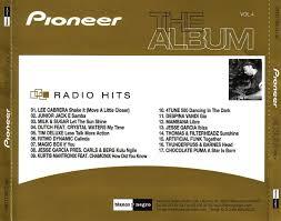 pioneer album carátula trasera de pioneer the album volumen 4 radio hits portada