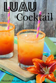 luau cocktail great summer beverage for parties mixed