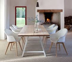white rectangle kitchen table vincent sheppard albert dining table a frame