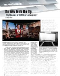 widescreen review 02 13 kipnis studios