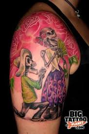 39 best day of the dead matching tattoos images on pinterest day