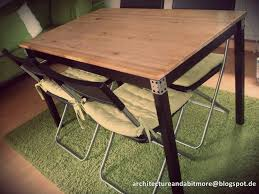 ingo ikea hack architecture and a bit more industrial dining table made of a