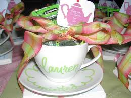 tea cup favors personalized tea cup favors debi sementelli